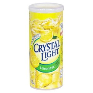 Crystal Light container